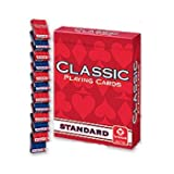 POKER PLAYING CARDS 1 CS-12 DZ PACKAGES=144 DECKS