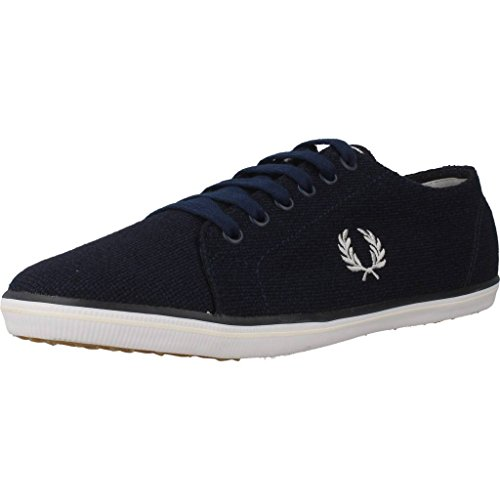 Fred Perry Kingston Jersey Carbon Blue B9094266, Basket Bleu Marine