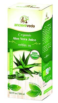 Karela Juice / Bitter Gourd 500 ml - USDA Certified Organic - Ancient Veda