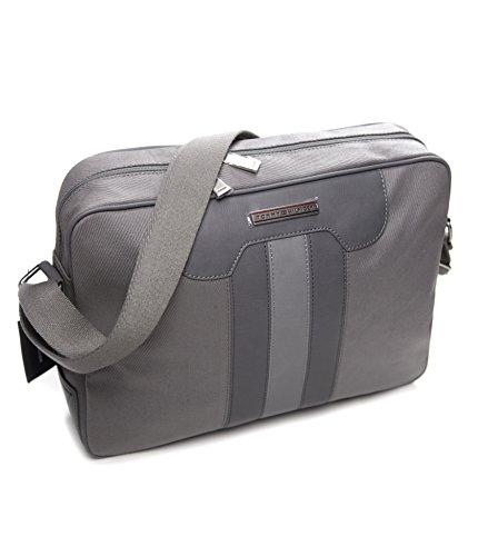 Tommy Hilfiger T Stripe Messenger Bag Gray