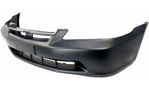 New Evan-Fischer EVA17872012358 Front BUMPER COVER Primed Direct Fit OE REPLACEMENT for 1998-2000 Honda Accord *Replaces Partslink HO1000178