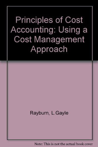 244142550 principles of cost accounting Principles of cost accounting / edition 17 discover how readable and relevant cost accounting can be with principles of cost accounting, 17e this edition packs the essentials you need to know in a unique 10-chapter format that is well organized, practical, and concise.