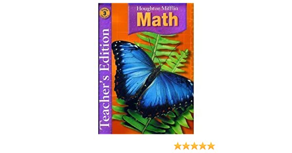 Math Worksheets houghton mifflin math worksheets grade 5 : Amazon.com: Houghton Mifflin Math, Teacher Edition, Grade 3, Vol ...