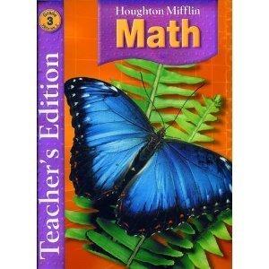 Houghton Mifflin Math, Teacher Edition, Grade 3, Vol. 2