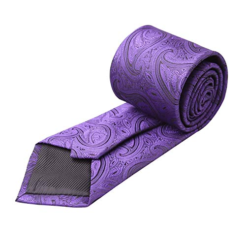 Boutons Homme Alizeal Pochette Foncé De Violet cravate Lot Manchette xIqdvqzr