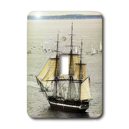 3dRose lsp_43785_1 USS Constitution Toggle Switch ()