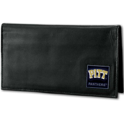 NCAA Pittsburgh Panthers Deluxe Leather Checkbook Cover