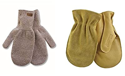 Alyeska 5230 Rag Wool Mitten AND a 1931 Cowhide Chopper Shell Mitt w Nikwax Waterproofing. These Mittens are Made to go Together and a Must for those who Know about Layering for Cold Weather