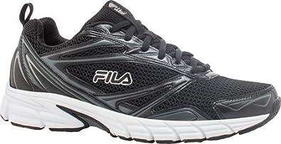 Fila Men's Royalty Running Shoe,Black/Castlerock/White,US 7.5 M