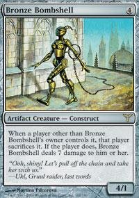 Magic: the Gathering - Bronze Bombshell - Dissension - Heaven Bronze