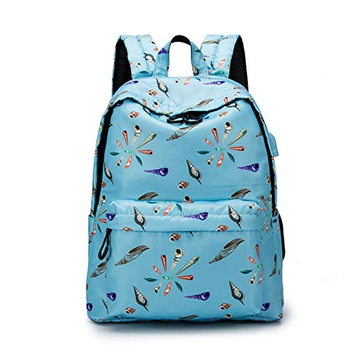 Fashion Waterproof Printing Backpack Women School Students Back Pack 14-15.6 Inch Laptop Cute,6,42x32x18cm
