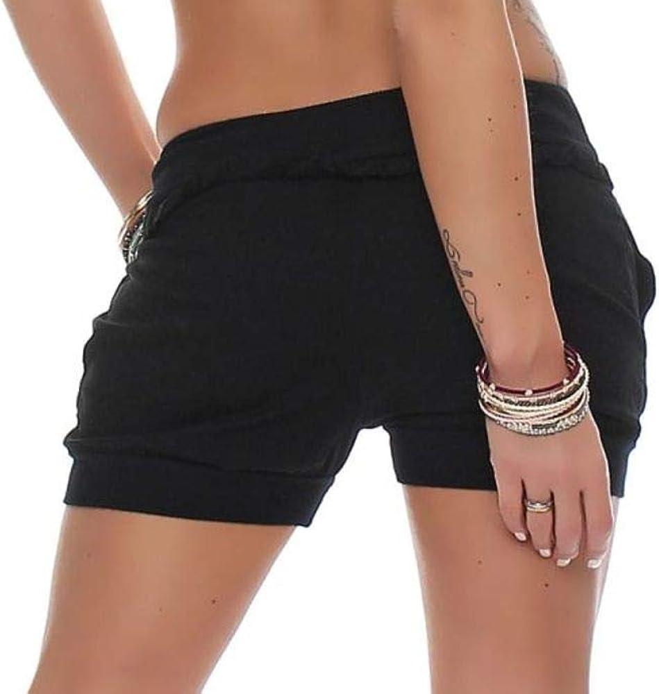 Malito Hotpant Disegno Classico Pantaloncini Estate 6086 Donna
