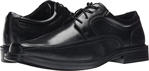 Dockers Men's Manvel Moc Toe Oxford Black Polished Full Grain 8 EE US - Black Polished Full Grain