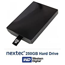 New - Xbox 360 Slim (250 GB) Hard Disk Drive HDD for Microsoft Xbox 360 Slim Console