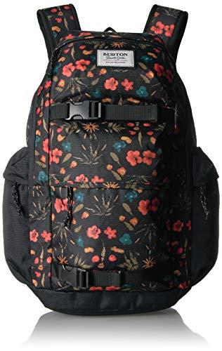 Burton Kilo Backpack, Black Fresh Pressed Print