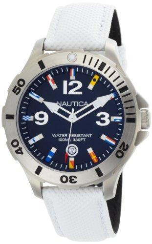 Nautica Men's N12568G BFD 101 Blue Dial Watch