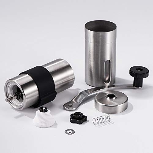 Portable Coffee Tea case 2 PCS Mini Manual Stainless Steel Coffee Grinder, Portable Coffee Tea case by Fanclplus