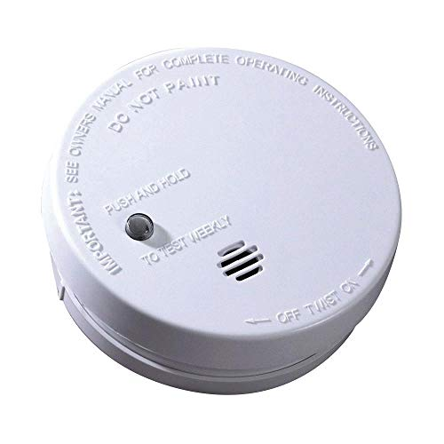 Kidde | Model i9040 Battery-Operated Ionization Sensor Compact Smoke Detector Alarm