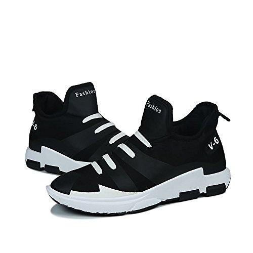 Negro Calzado No De Atléticas Hombre Son Hombre Zapatillas Con Casuales Deporte Shufang Un Las Pedal Deportivo 2018 shoes Al Resistente Personalidad Para Desgaste 8xwBnq8fTv