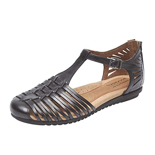 Femme Ch Inglewood Black Hurache Lthr Chaussures Rockport nf51qIw