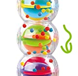 Play Butterfly Bead Rattle Toy - Ball Shaker Rattle