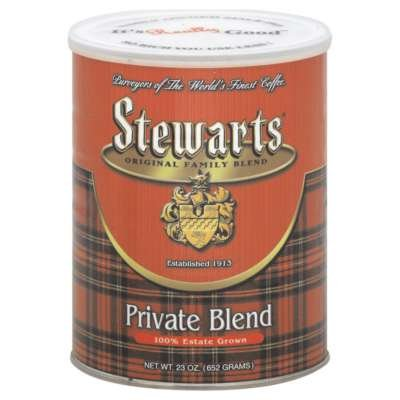 Stewarts Original Family Blend Private Blend Coffee 23 Ounce Pack of 6