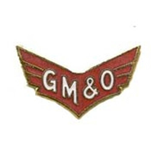 GM & O Railroad Pin 1""