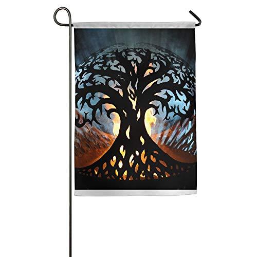 NOAID Custom Garden Flag Wonderful Tree of Life