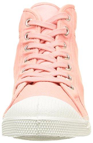 Rose Tennis 442 High Rosa Mid Sneakers Women's Top Bensimon 8aq7n