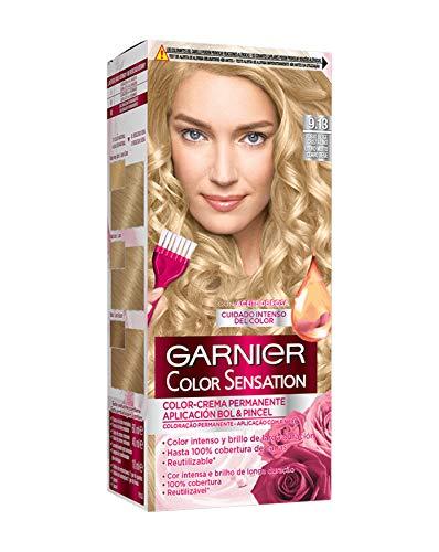 🥇 Garnier Color Sensation – Tinte Permanente Rubio Beige Cristalino 9.13