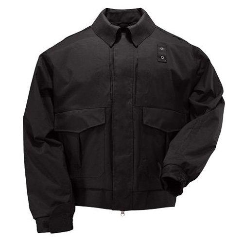 5.11 Tactical Jackets Outerwear (5.11 Tactical Tactical Lined Duty Jacket, Black, Large)