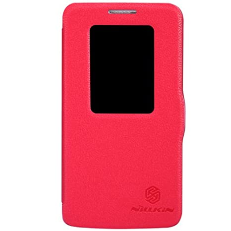 IVSO Slim Smart Funda para LG G2 mini Smartphone (Slim Book Series - Rojo)