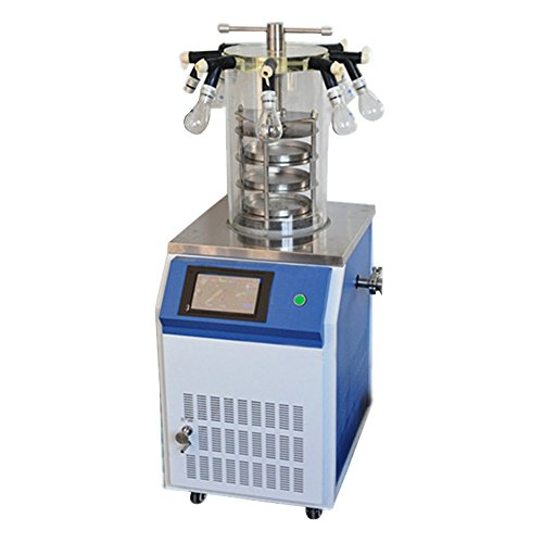 Fristaden Lab DW-18ND Electric Heating laboratory Vacuum Freeze-Drying Machine, Electrically Heated Electrical Industrial Lab Vacuum Freeze Dryer, Commercial Industry-Grade Lyophilization
