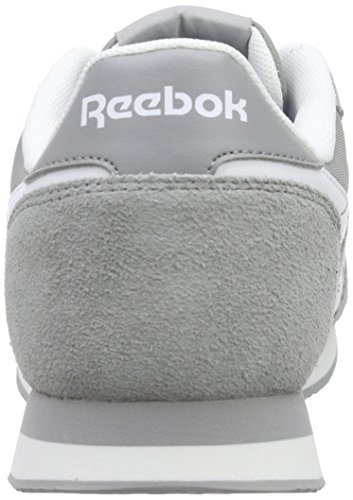 Reebok Royal CL Jogger 2, Zapatillas de Running para Hombre Gris / Blanco (Baseball Grey/White/Flat Grey)