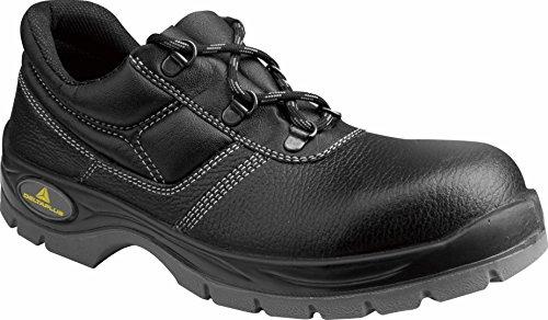 Chaussures Delta Plus - Set Leather Shoe Jet2-s3 Noir Taille 45, 1 Paire