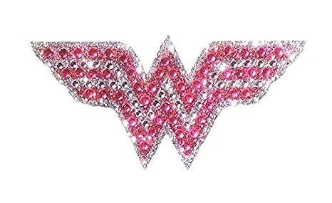 Bling Logo Crystal Studded Superman DC Comics Superman Small Car Window Decal Sticker CH SM LOGO001SM
