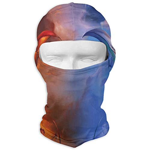 LoveBea Balaclava Ice Dragon Full Face Masks Ski Sports Cap Motorcycle Hood for Cycling Sports Mountaineering (Driver Headcover Dragon)