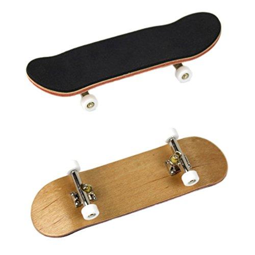 [해외]Facaily Professional Bearing Wheels Skid Pad Maple Wood Finger Skateboard Fingerboard Novelty Toys / Facaily Professional Bearing Wheels Skid Pad Maple Wood Finger Skateboard Fingerboard Novelty Toys