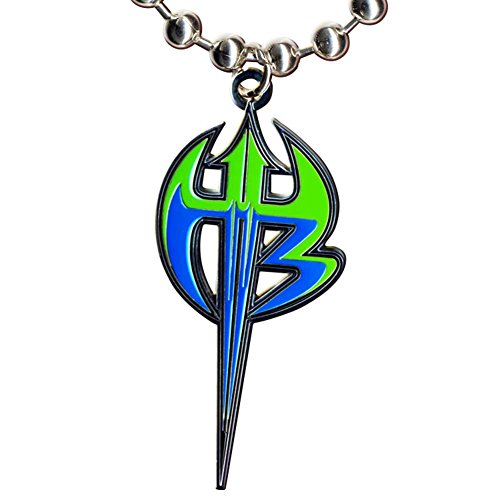 Jeff Hardy Purple & Green Logo Pendant