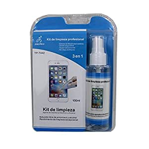 Theoutlettablet® kit de limpieza profesional / limpiador de pantalla para Smartphone Lava A71 (Mod T442)