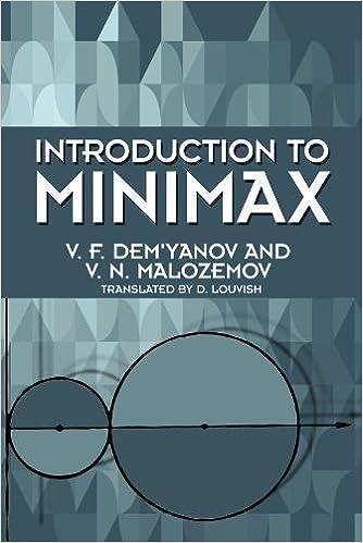 introduction to minimax v n malozemov
