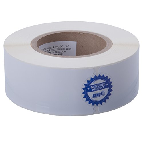 "- Kenco Premium Inkjet 2"" X 6"" Rectangle High Gloss Paper Roll-Fed Inkjet Labels. Compatible with Primera Color Label Printers and Many Other Printer Brands. Supplied 425 Labels on a 3"" core."