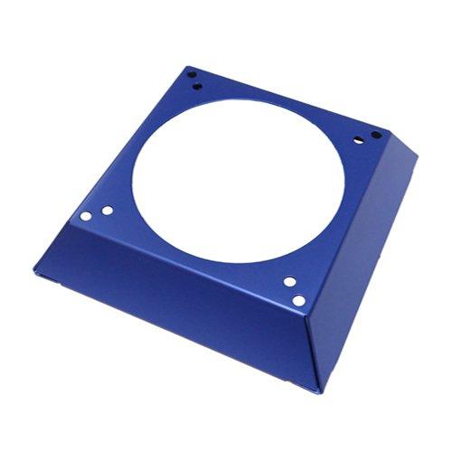 - Akust Aluminum 80mm & 92mm to 120mm Case Fan Adapter Blue