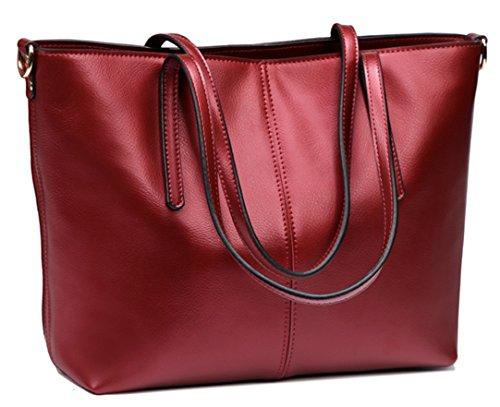 Rouge Messenger Ghlee Doux Sac 2017 Sacs en sac à cuir Mode main Sac bandoulière à w6x7aqUwr
