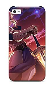 XiFu*MeiHot Fashion Protective Fate Stay Night Saber Case Cover For Iphone 5cXiFu*Mei
