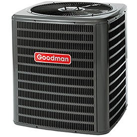 Goodman Ssz140481 Air Conditioner Condenser W/Heat Pump 48k Btu Cool, 47k Btu Heat, 4 Ton, 14 Seer
