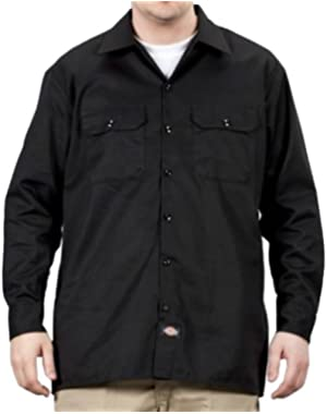 Long Sleeve Work Shirt - Black Dickies574 Classic Mens Work Shirt