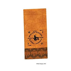 Halloween The Witch's Kitchen Dish Towel