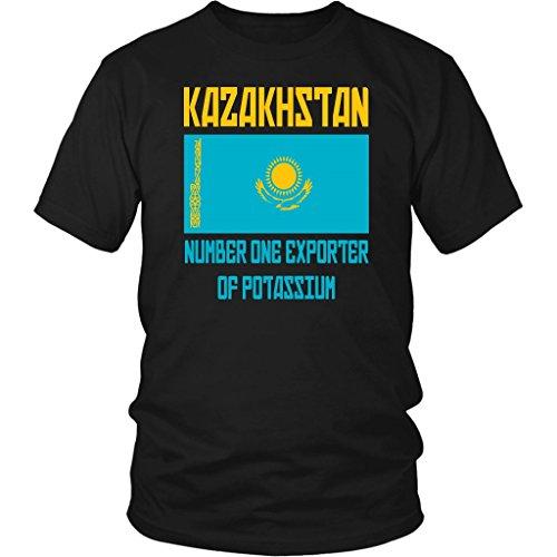 Kazakhstan Number One Exporter of Potassium - Unisex T-Shirt - Borat Quote - Borat Movie T-shirt
