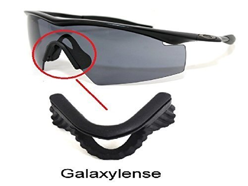 5be7c49369 Amazon.com  Galaxy Nose Pads Rubber Kits For Oakley M Frame Heater ...